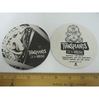 TRANSPLANTS 2013 in a warzone 4 beverage coaster set promo ~NEW~!!