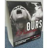 OURS 2002 precious promotional 3D counter display New Old Stock Flawless