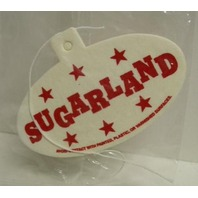 SUGARLAND 2006 enjoy the ride MCA RECORDS promotional airfreshener New Old Stock