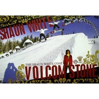 VOLCOM 2005 SHAUN WHITE sequence snowboard poster~NEW~!