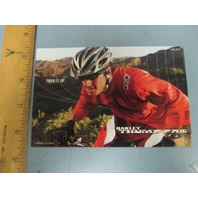 OAKLEY mountain bike 2006 BRIAN LOPES BMX dealer promo display card~NEW~!