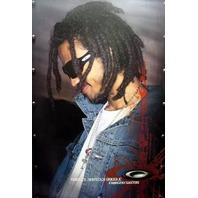 OAKLEY 2004 Fabrizio Santos skate ~HUGE~ promo poster MINT!