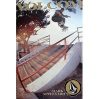 Volcom 2001 Mark Appleyard skateboard Big promo poster Nice NEW old stock