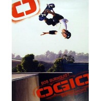 OGIO 2005 Bob Burnquist skateboard promo poster MINT!!