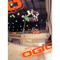 Bucky Lasek 2005 OGIO skateboard promo poster New Old Stock Flawless Condition
