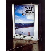 BURTON snowboard 2002 20th US OPEN promo poster ~NEW old stock MINT condition~!