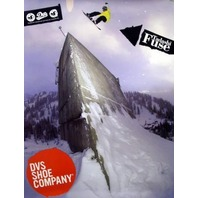 DVS 2006 Tadashi Fuse 2 sided snowboard poster ~MINT condition~NEW old stock~!!