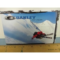 OAKLEY surf sun snow 2007 PEP FUJAS SKI dealer promo display card ~NEW~!