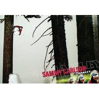 OAKLEY 2006 Sammy Carlson SICK ski promotional poster ~MINT cond NEW old stock~!