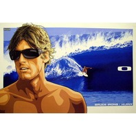 OAKLEY 2007 BRUCE IRONS HIJINX SURF poster HUGE & MINT condition!!