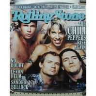RED HOT CHILI PEPPERS 2000 Rolling Stone Magazine PROMOTIONAL POSTER ~NEW~!!