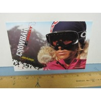 OAKLEY surf sun snow 2005 JON OLSSON SKI dealer promo display card~NEW~!