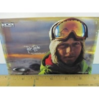 OAKLEY surf sun snow 2006 PEP FUJAS SKI dealer promo display card ~NEW~!
