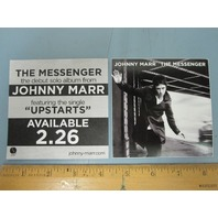 JOHNNY MARR 2013 THE MESSENGER promotional sticker New Old Stock The Smiths