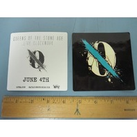 QUEENS OF THE STONE AGE 2013 ...LIKE CLOCKWORK promotional sticker ~NEW~!!