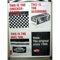 VANS skateboard snowboard BMX SURF HISTORY STICKER wallpaper ~MINT CONDITION~!