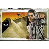 OAKLEY 2007 RUNE GLIFBERG skateboard warden BANNER ~MINT condition~NEW~!!