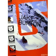 BURTON snowboards 2005 JAKE BURTON promo poster New Old Stock Mint Condition