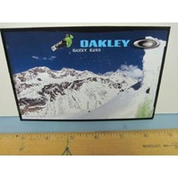 OAKLEY surf sun 2007 DANNY KASS SNOWBOARD dealer promo display card ~NEW~!