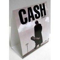 JOHNNY CASH 2003 unearthed promotional counter display New Old Stock Flawless