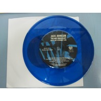 JACK JOHNSON 2010 YOU AND YOUR HEART remix BLUE VINYL ETCHED 45 New Old Stock