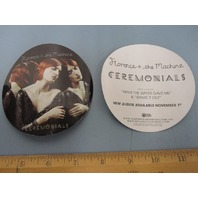 FLORENCE + THE MACHINE 2011  CEREMONIALS PROMOTIONAL STICKER ~NEW~!