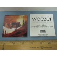 WEEZER 2014 EVERYTHING WILL BE ALRIGHT IN THE END PROMOTIONAL STICKER ~NEW~!