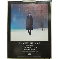 JAMES BLAKE 2013 overgrown promotional static cling sticker ~NEW/mint condition~!