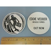 Eddie Vedder 2011 Ukulele Songs promotional sticker New old stock Pearl Jam