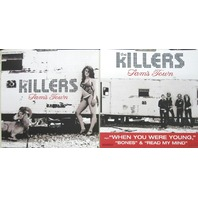 THE KILLERS 2006 SAM'S TOWN 2 SIDED promotional poster/flat ~NEW~MINT condition~