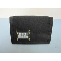 LIB TECH surf skateboard snowboard LAYUP WALLET black New Old Stock Rare