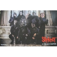 SLIPKNOT 2014 .5 THE GRAY CHAPTER 2 sided promotional poster ~NEW~!