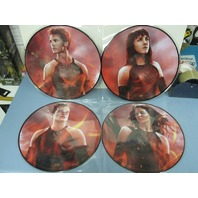 The Hunger Games Catching Fire Soundtrack 2013 2xLP ltd. ed. picture discs New