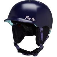 PRO-TEC ski snowboard SCANDAL HELMET dark purple/teal  womens LARGE New