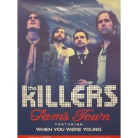 The Killers 2006 Sam's Town 2 Sided promotional poster New Mint Condition