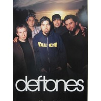 THE DEFTONES 2000 WHITE PONY FUCT promotional poster ~N.O.S.~NICE condition~!