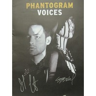 PHANTOGRAM 2014 AUTOGRAPHED promotional poster ~N.O.S.~MINT condition~!