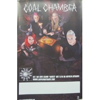 COAL CHAMBER 2015 RIVALS promotional poster ~NEW~MINT condition~Quija Board~!!