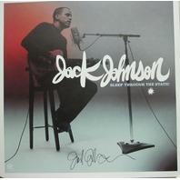 Jack Johnson 2008 Autographed sleep through static print N.O.S. Mint condition