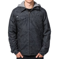 VOLCOM snowboard BMX skateboard FACETED LINED JACKET mens MED NEW with tags