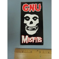 GNU snowboard surf skateboard Danny Kass MISFITS STICKER ~NEW~MINT CONDITION~!