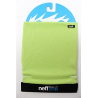 NEFF snowboard ski skateboard STRETCHY NECK THING GAITER lime ~NEW in package~!