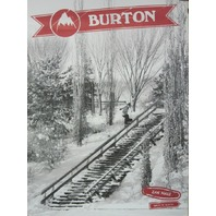 BURTON snowboards 2013 KELLY CLARK/ZAK HALE promo poster NEW & MINT condition