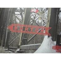 BURTON snowboards 2013 JEREMY JONES/ENNI R. promo poster ~NEW & MINT condition~!