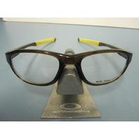 OAKLEY mens RX eyeglass frame CROSSLINK STRIKE BARK OX8048-0354 ~NEW IN BOX~!!