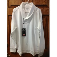 "OGIO GOLF ""ROLL CAGE"" pullover thermal WHITE  mens Large ~NEW w/tags~!!"