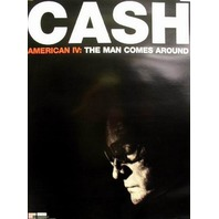 JOHNNY CASH 2002 man comes around promo poster ~NEW old stock~MINT condition~!