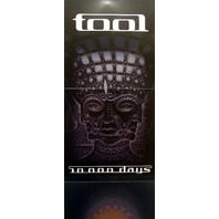 TOOL 2006 10,000 days promotional 2 sided poster ~MINT condition~NEW old stock!!