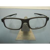 OAKLEY mens RX eyeglass frame TRAILMIX Flint OX8035-0252 NEW IN BOX~w/case