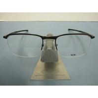 OAKLEY mens RX eyeglass frame CONDUCTOR 0.5 toast OX3187-0451 NEW IN BOX w/case